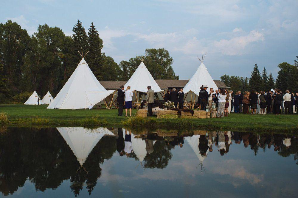 Jackson Hole Wedding | Jackson hole wedding, Outdoor ...