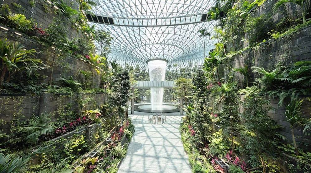 Shiseido Opens Giant Forest In Airport Professional Beauty
