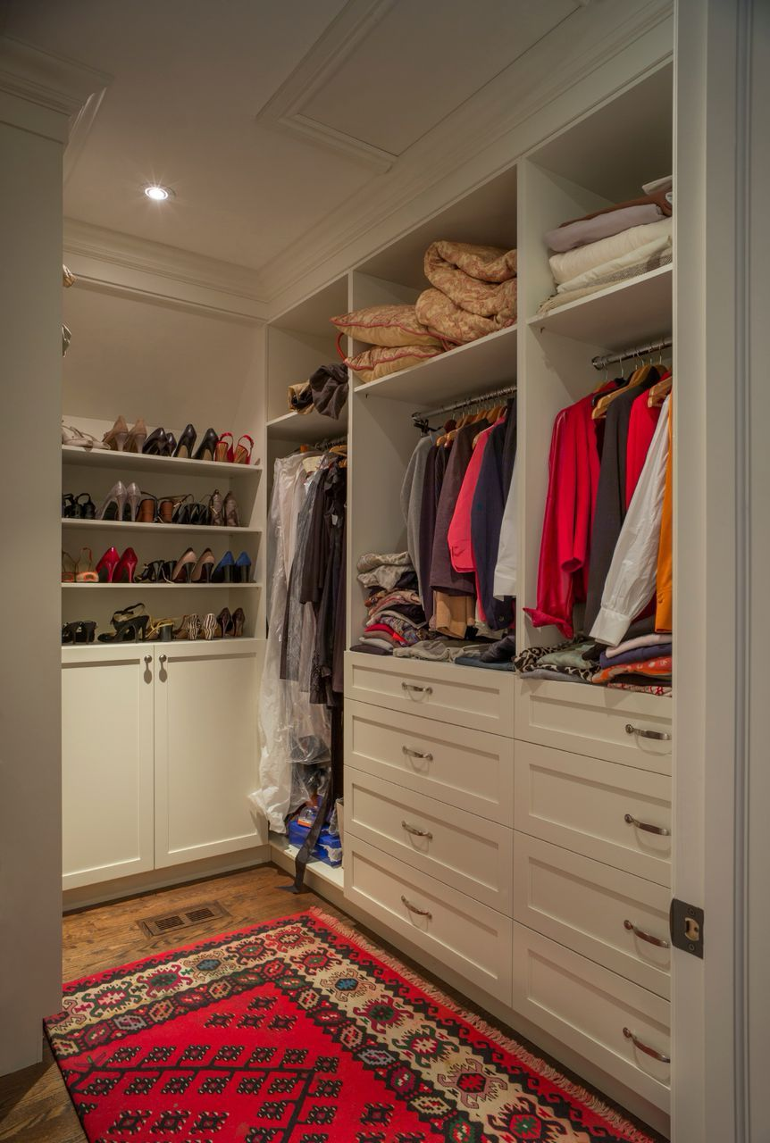 small closet lighting ideas. A White And Wood Walk-in Closet With Hardwood Flooring Cabin-style Rug. Small Lighting Ideas H