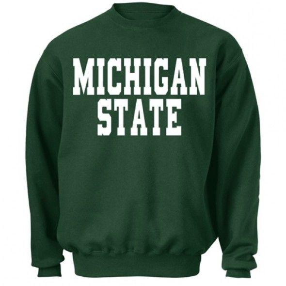 NCAA Michigan Staat Spartans Go Grün Go Weißes T-Shirt Herren Sport Fanartikel Baseball & Softball