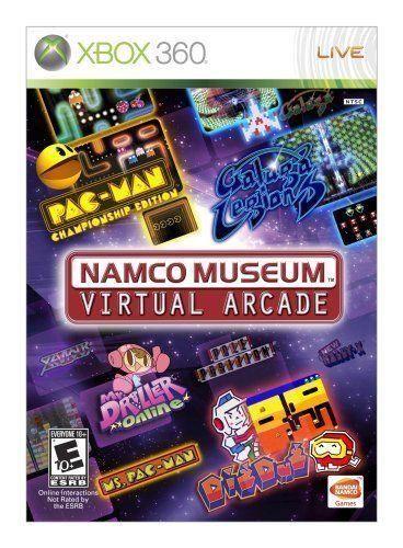 Namco Museum Virtual Arcade Xbox 360 Namco Museum Virtual Arcade