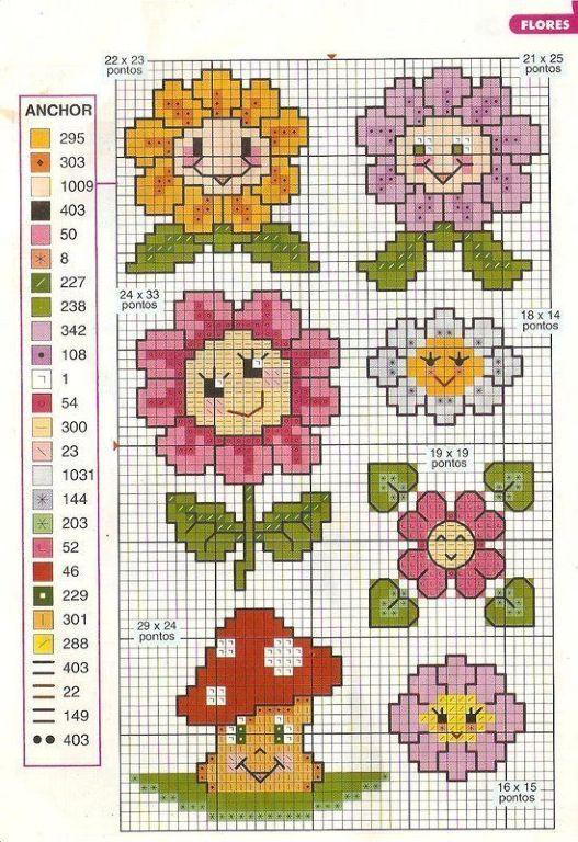 Små søde blomster til fx kort..