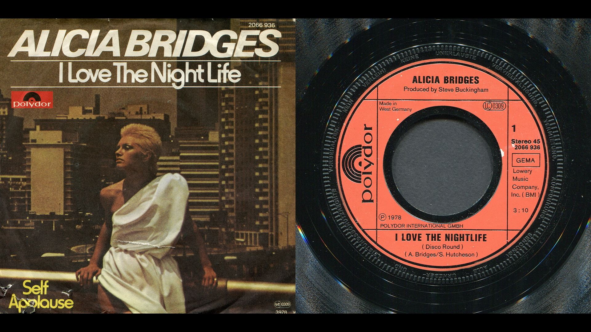 Pin Af Jan Knudsen Pa Alicia Bridges 1978 I Love The Nightlife