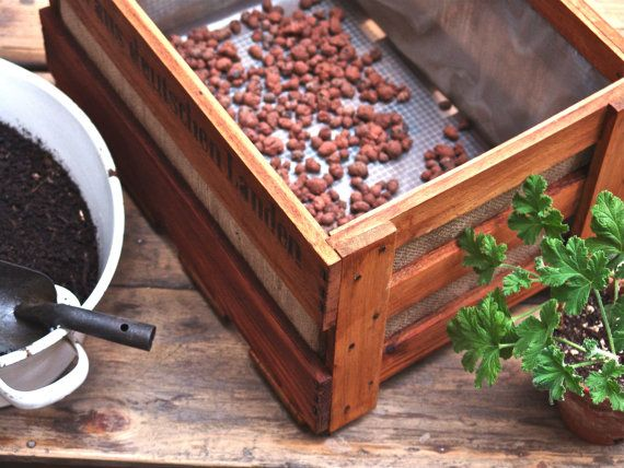 Planter Made From Vintage German Wine Crate By Beetbox On