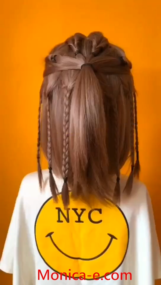 So Cool Hip Hop Hairstyles For Girl Hairstyle Tutorial 5 Video Hair Styles Hair Tutorial Girl Hairstyles