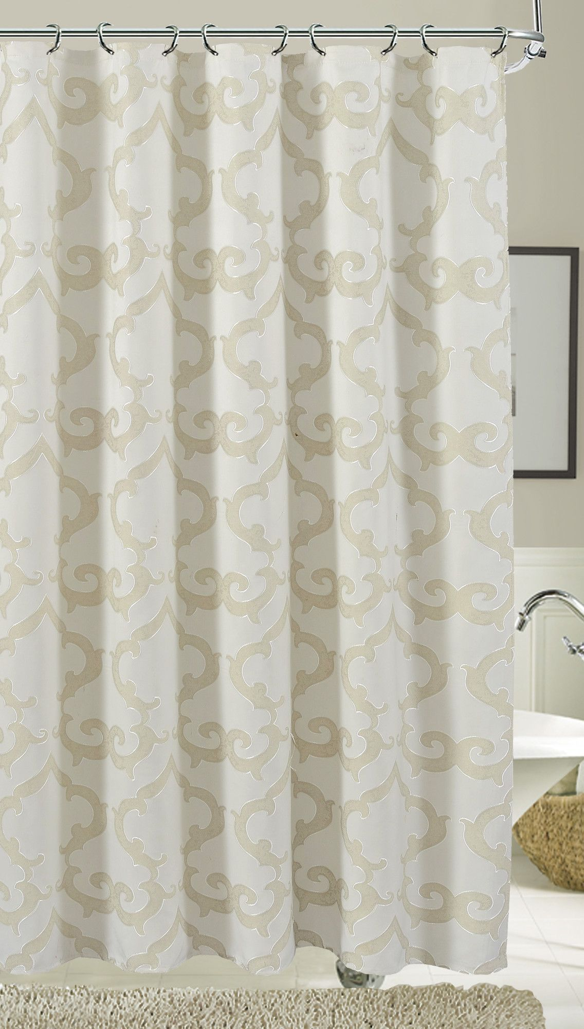 Luxembourg Single Shower Curtain Curtains Fabric Shower
