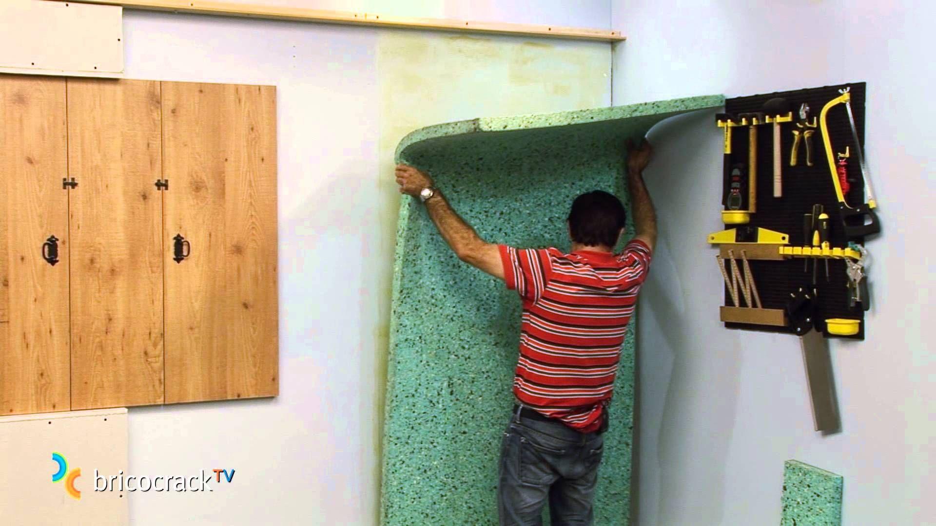 Aislar una pared con paneles encolados bricocracktv for Leroy merlin isolamento acustico