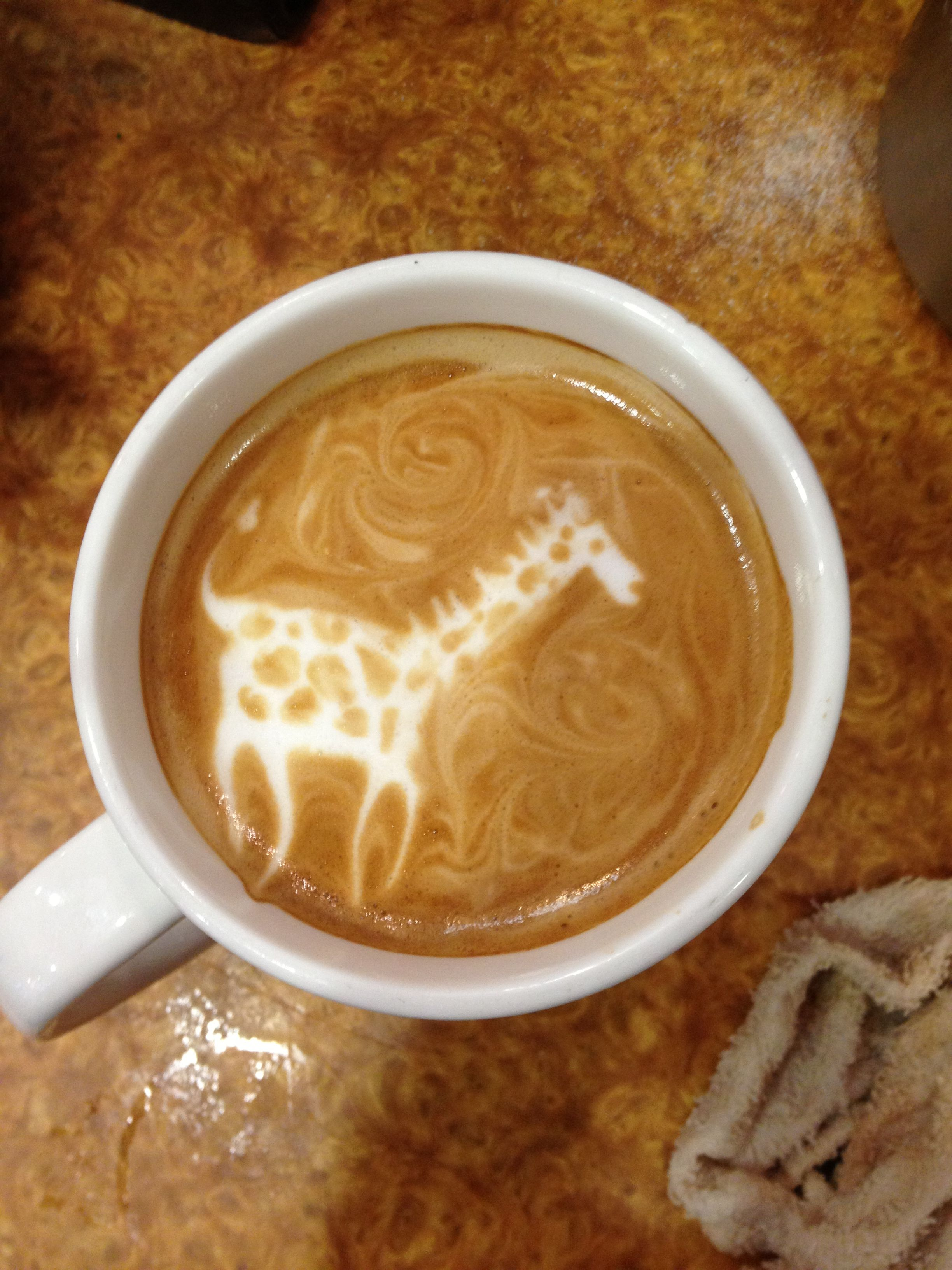 Latte Art Made At Terra Bella Bakery Cafe In Anchorage Alaska Bakery Cafe Food And Drink Latte