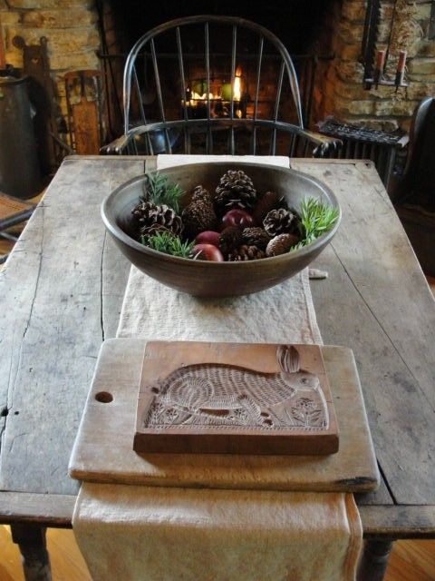 Rustikale primitive kuchen wohndesign - Kuchenfliesen alternative ...