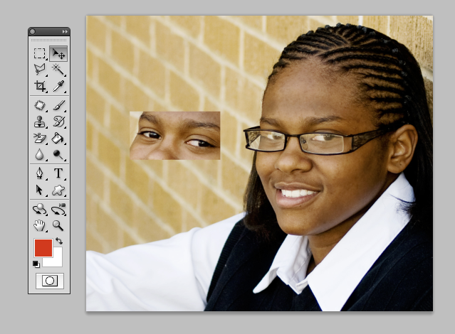 Merging 2 images in photoshop