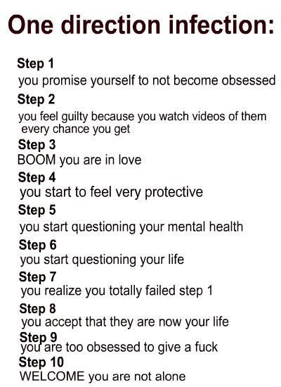 Whooo yeah, I got Direction Infection,...<3