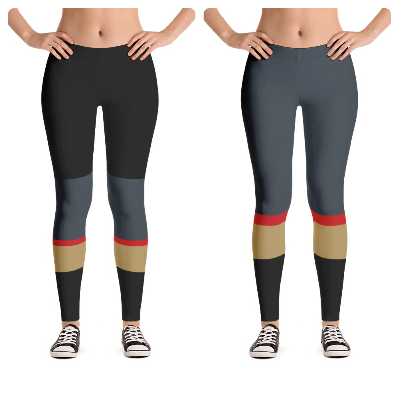 online retailer c34ad 6f31d Las Vegas golden knights leggings Kids and Women's sizes ...