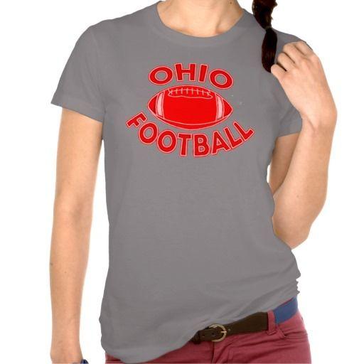Ohio Football Shirt. http://www.zazzle.com/interstellaryeller
