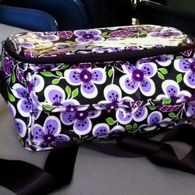 My Vera Bradley lunch box.