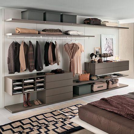 Cabina Armadio Joyce Camera da letto stretta, Design