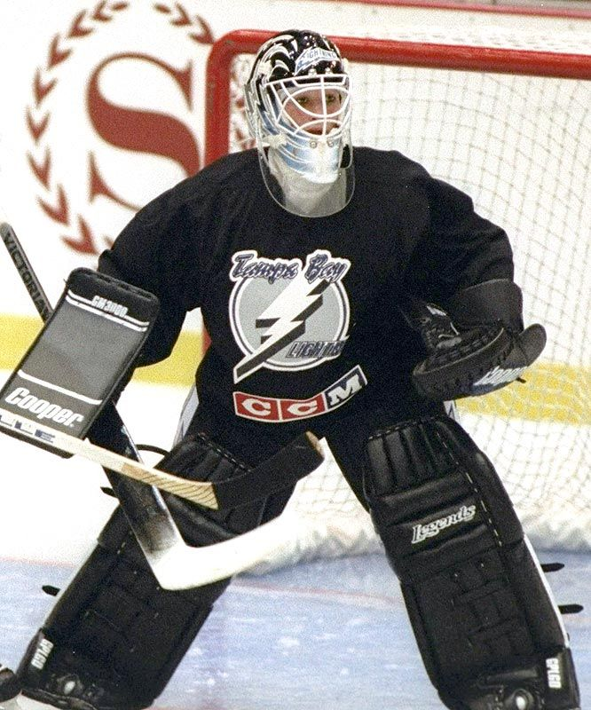 1992 - On Sept. 23, 1992, MANON RHEAUME appeared in goal in an NHL exhibition game for the Tampa Bay Lightning (against the Blues), becoming the first female to play in a major professional sport. It was part of a long series of pioneering firsts for the goalie, including the first woman to play in a Junior A men's hockey game. Rheaume was the goaltender for the Women's Canadian National Team at the 1992 and 1994 Women's World Championships, winning a gold medal both times.