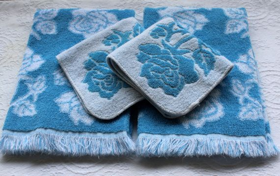 Vintage Towel Set by St. Mary's
