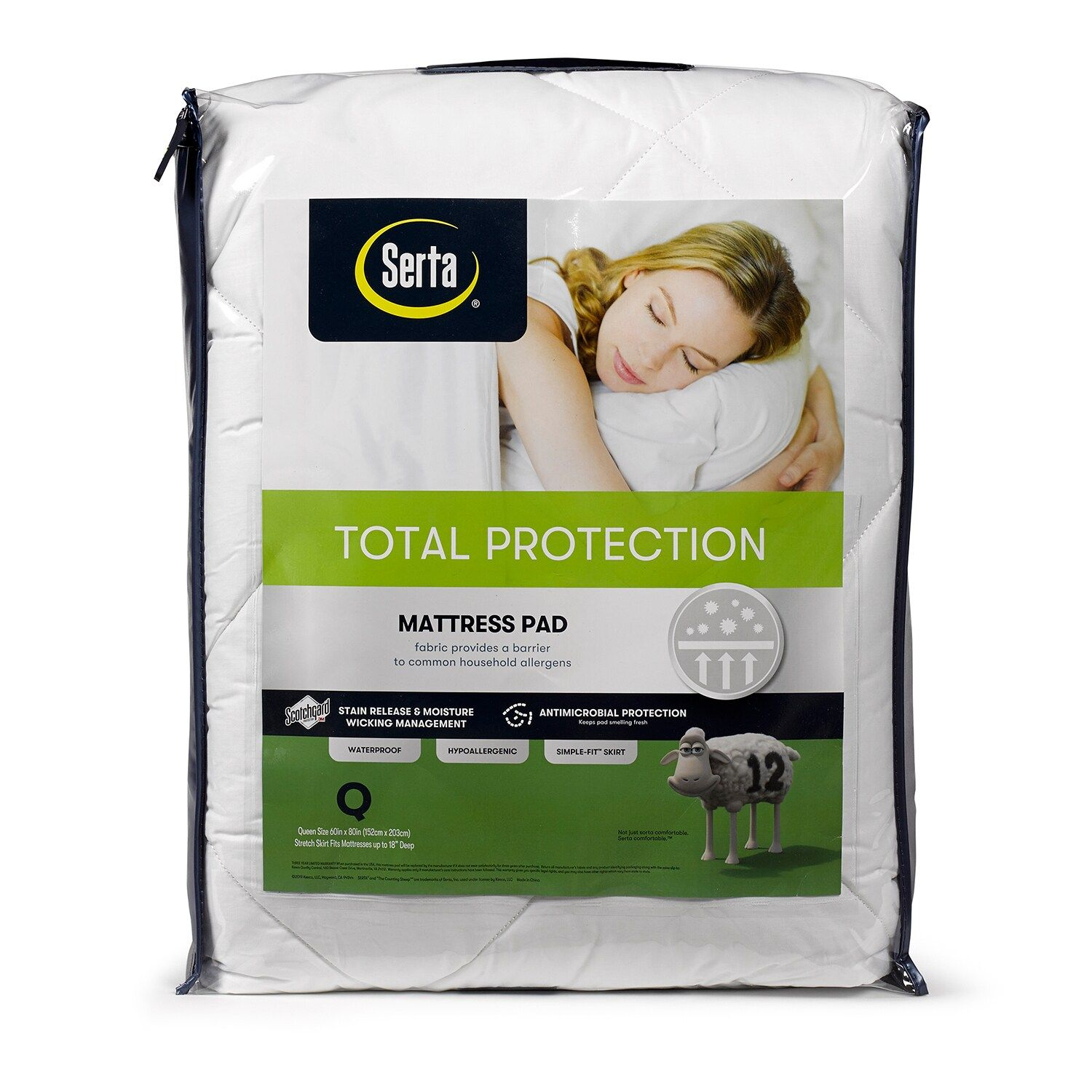 Serta Total Protection Mattress Pad Affiliate Total Sponsored