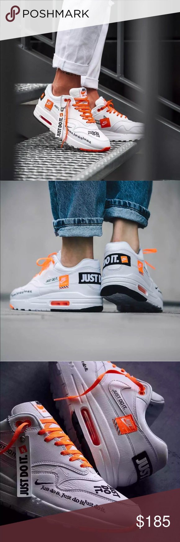 Nike womens air max 1 just do it