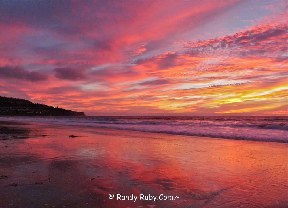 Tye Dye Sky.~ South Bay, La. www.randyruby.com