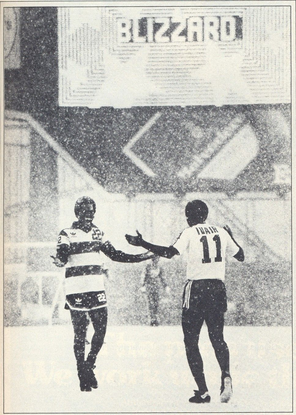 f8cb795c03e Only in the NASL  Toronto Blizzard debuts new name and hosts 1979 season  opener (4 8 79) against Ft. Lauderdale in a  blizzard