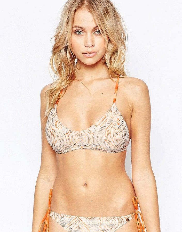 6d222d65a4e Raisins Island Girl Macrame Bikini Top | Swimware | Racerback bikini ...