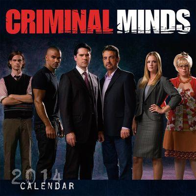 Criminal Minds - 2014 Calendar Kalenterit AllPosters.fi-sivustossa, 12.98€