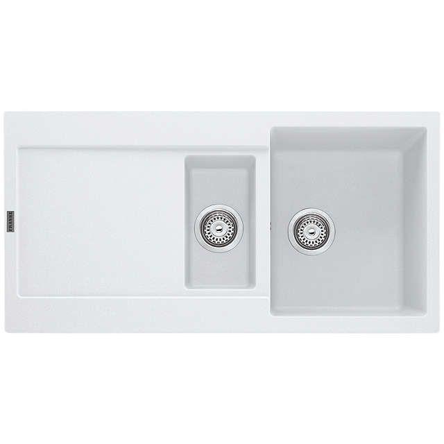 BuyFranke Maris MRG 651 1.5 Bowl Sink, Polar White Online At Johnlewis.com