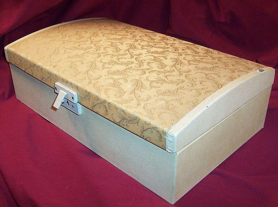 Farrington Jewelry Box Vintage Large Farrington Jewelry Box  Boxes Boxes Boxes