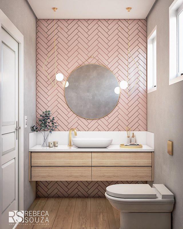 Photo of #bathroom ideas Rebeca Souza on Instagram: Parece real né ? Mas é um 3D-Spoile…