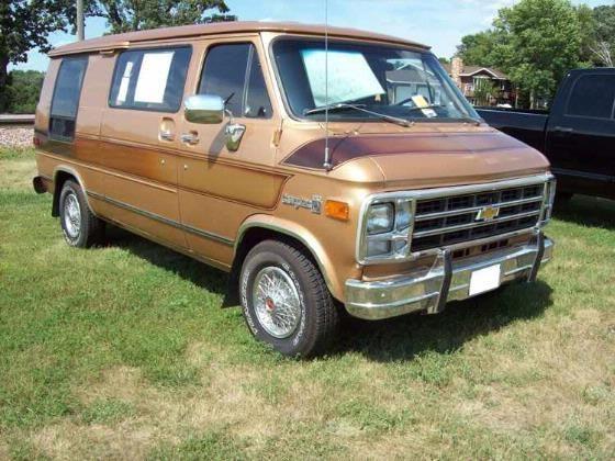 1979 Chevy Conversion Van Chevy Conversion Van Chevy Van Van