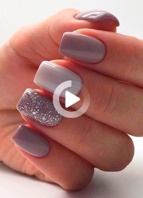 Nail Art In 2020 Pretty Nail Art Designs Short Gel Nails Short Acrylic Nails