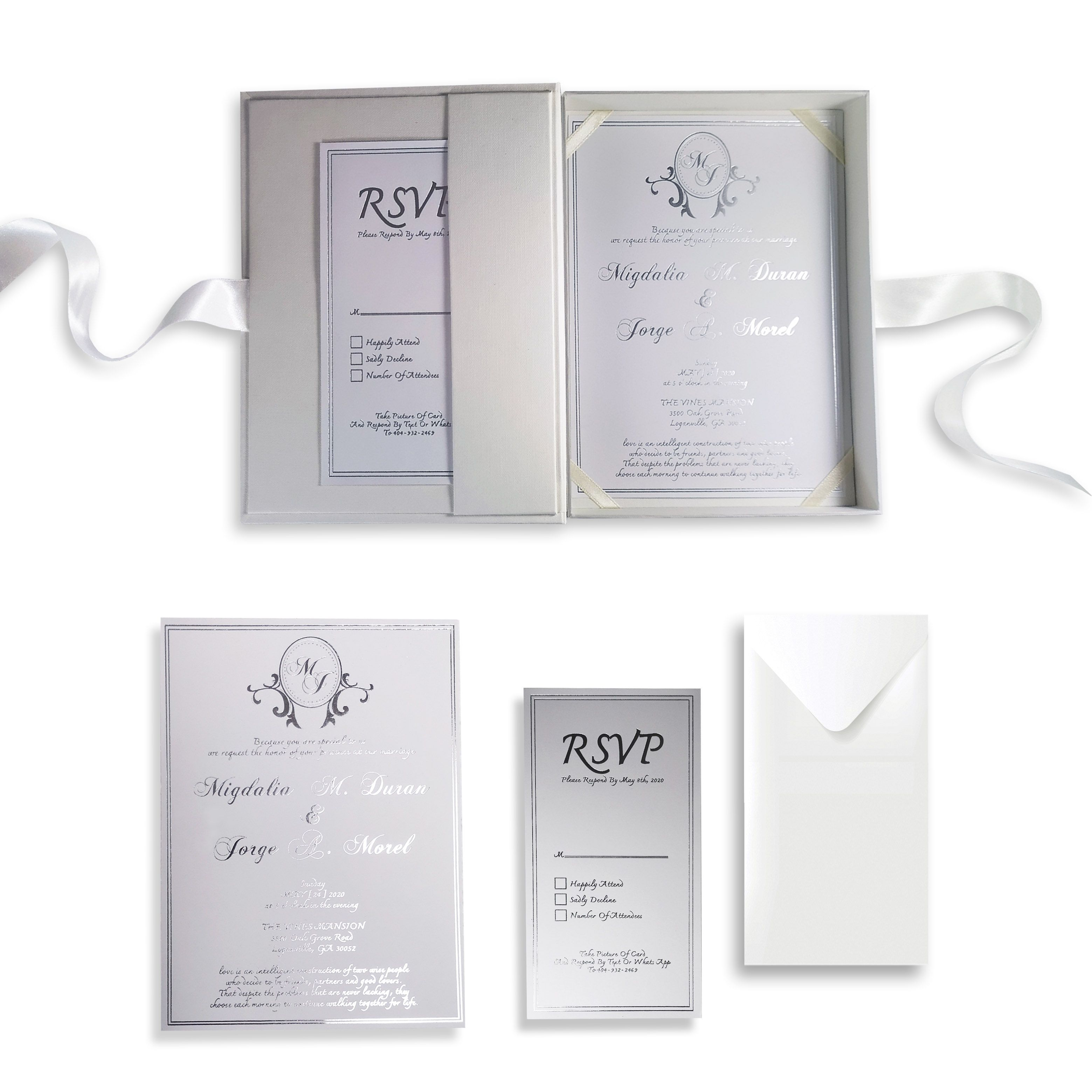 100+ Best Embellished Boxed Wedding Invitations images in 2020 | wedding  invitations, box wedding invitations, crystal brooch