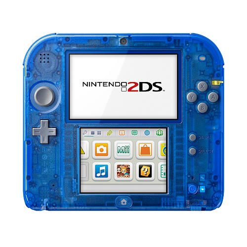 Nintendo 2ds Crystal Blue Nintendo Toys R Us Nintendo 2ds Nintendo Nintendo Ds