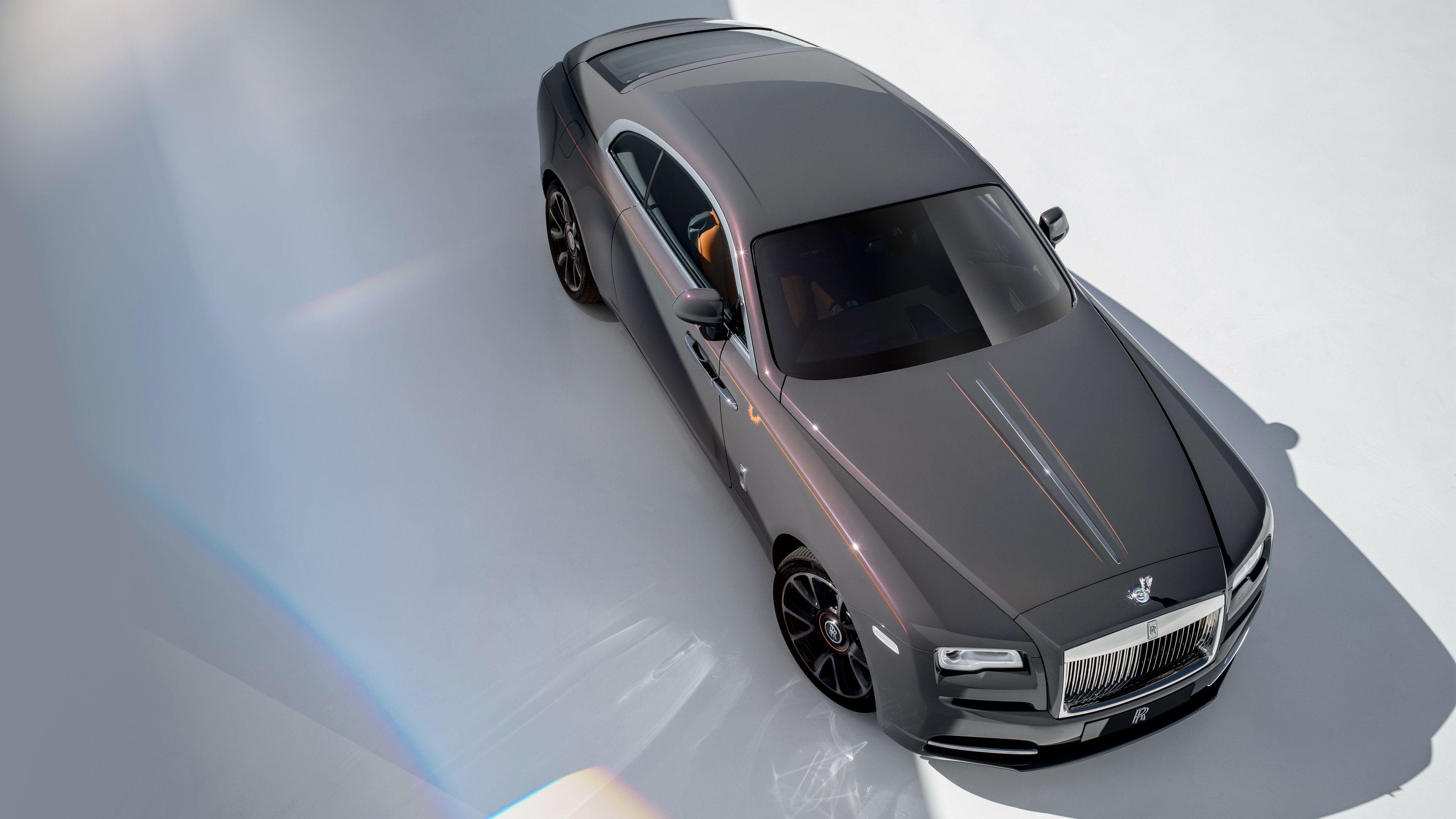 Rolls Royce Wraith Luminary Collection 2018 4k rolls royce wraith wallpapers, ro…