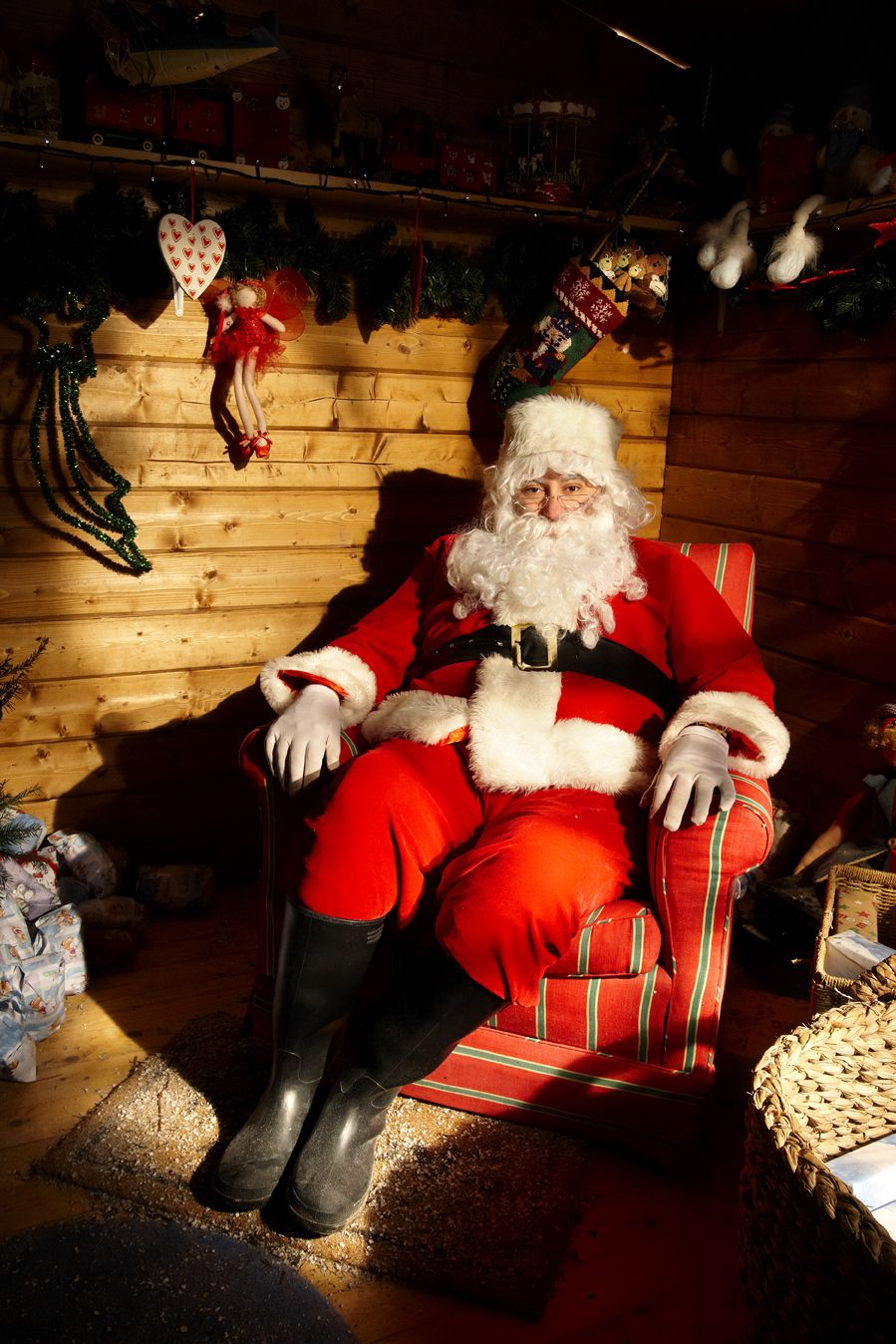 Father Christmas 2020 Come and meet Father Christmas at Hever Castle #Santa