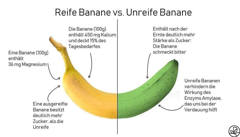 Banane Kalorien Nahrwerte Kohlenhydrate Plantura Rezepte Mit Obst Banane Nahrwert