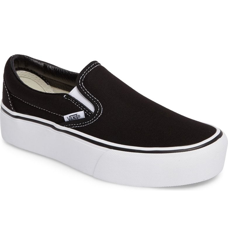 25864b18e92fd2 Free shipping and returns on Vans Platform Slip-On Sneaker (Women) at  Nordstrom.com. The classic Vans slip-on sneaker—crafted from sturdy canvas  that just ...