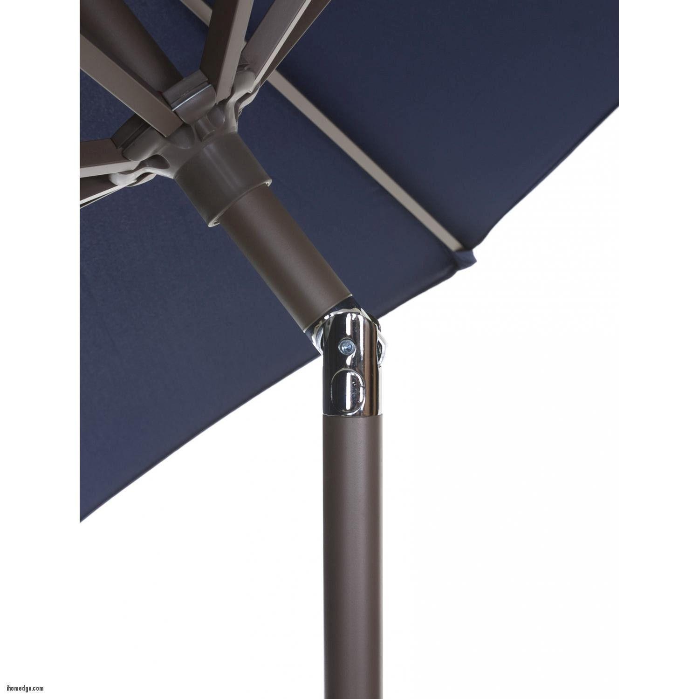 Nice Inspirational 9 Patio Umbrella , California Umbrella 9 Ft Navy Blue  Market Umbrella Push Button