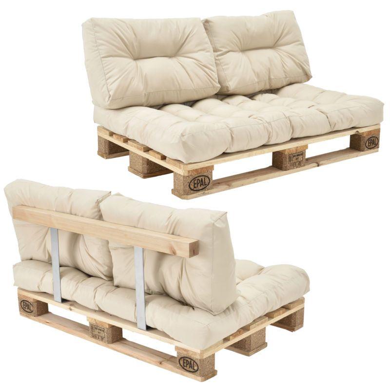 Sofas de palets compra beautiful elegant asiento tapizado - Cojines exterior carrefour ...
