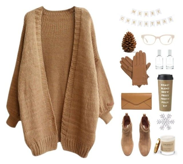 """Natural"" by tomorrow-xoxo ❤ liked on Polyvore featuring Isotoner, Vera Bradley, H&M, Splendid, Kate Spade, Burberry, sweet, Boots, natural and cosy"