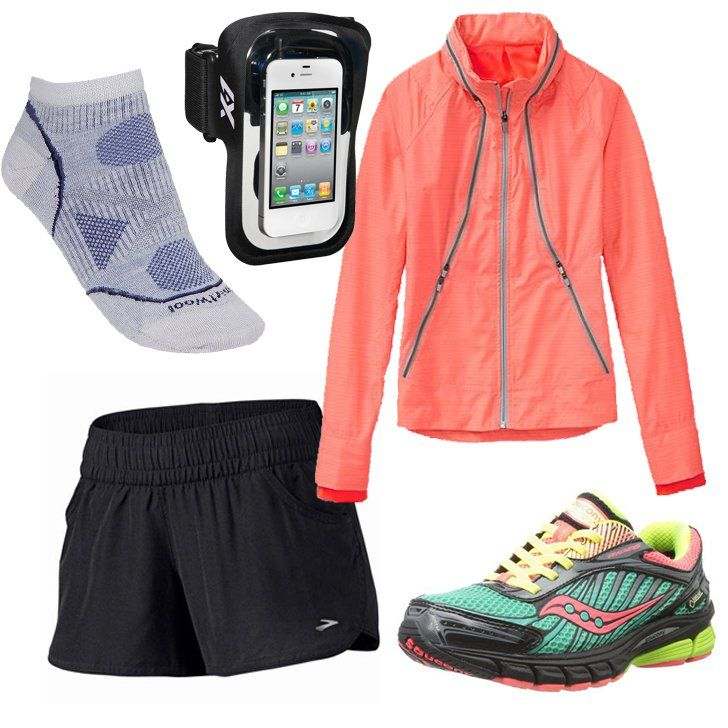 Pin for Later: Update Your Workout Wardrobe For Summer For a Run in the Rain