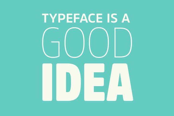 Conifer is a blocky geometric sans serif font that adheres to strict