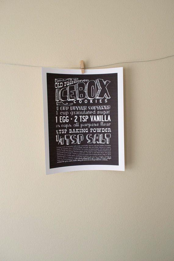 articipe ~ turns your recipes into artwork \u003c3 wall decor