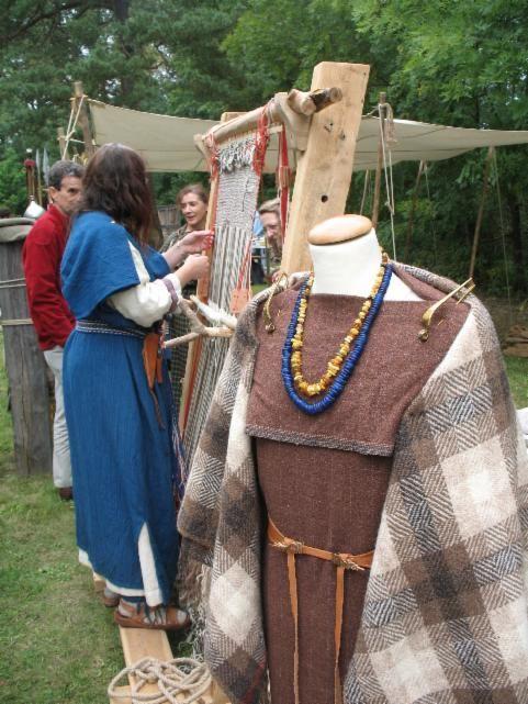 Artesanía edad del Hierro lana