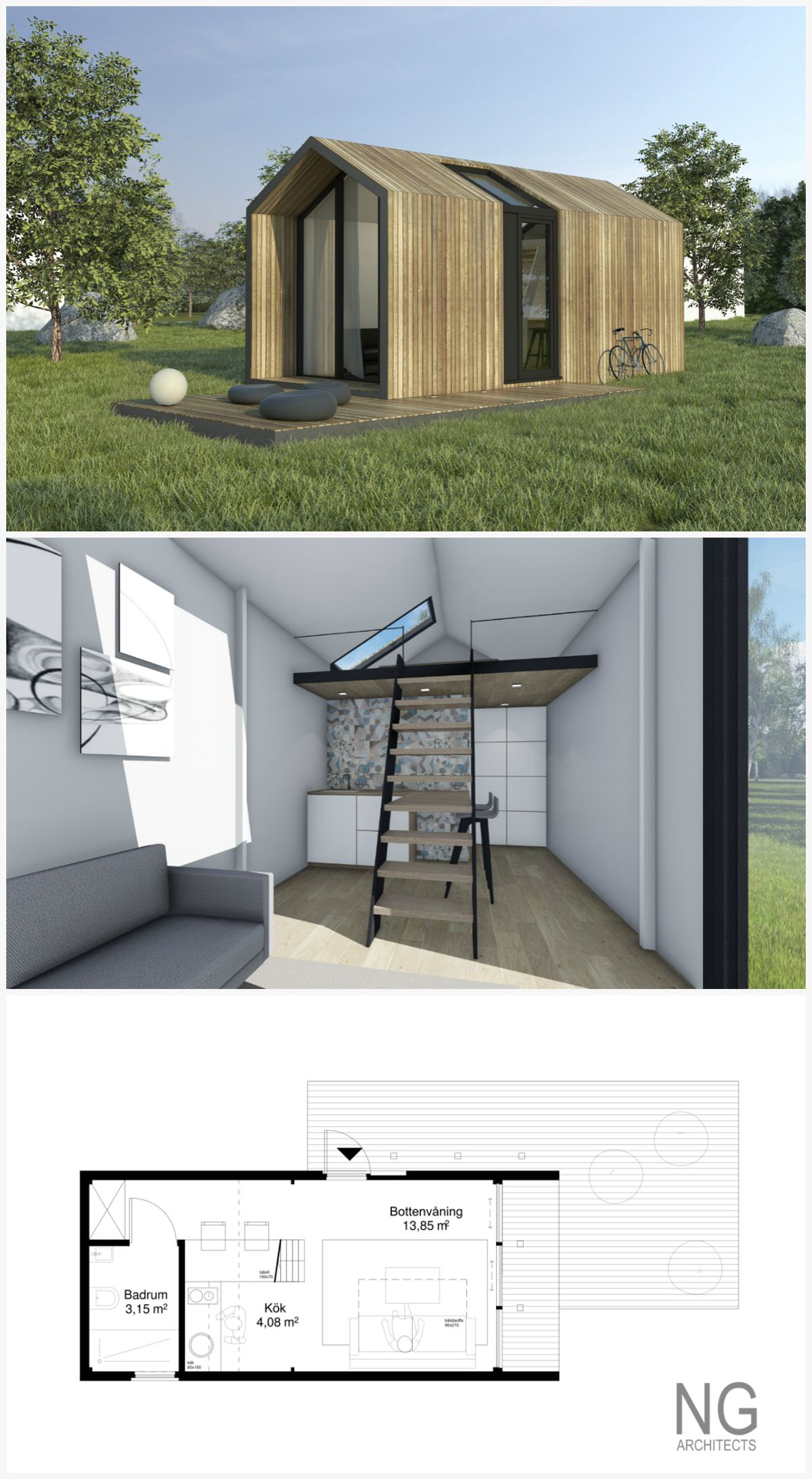 Corona - 25 m small house (attafallshus) designed by NG architects on small home architecture, lightweight house designs, compact home designs, contemporary small home designs, compact modern house designs, small bungalow designs, small compact bedroom designs, small compact home, small houseboat designs, small compact bathroom, small house interiors, small contemporary house,