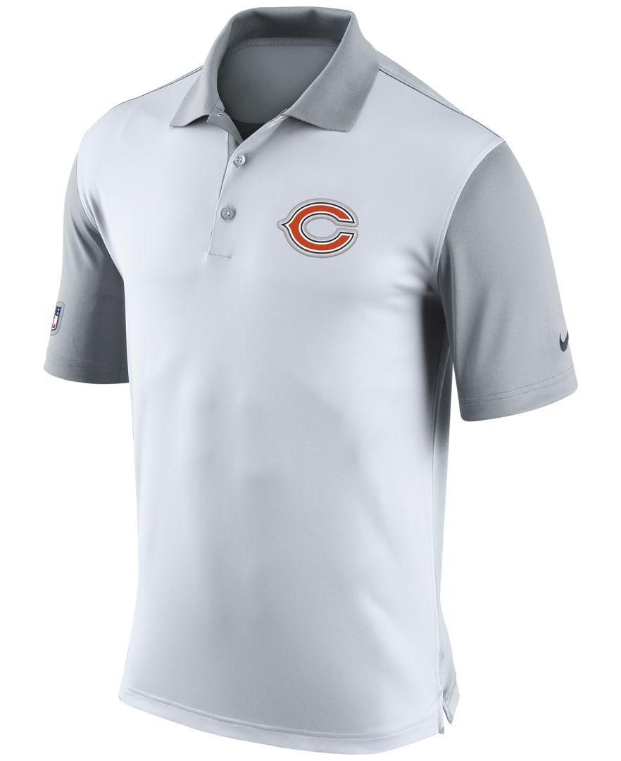Nike Men s Chicago Bears Preseason Polo  69df56d45