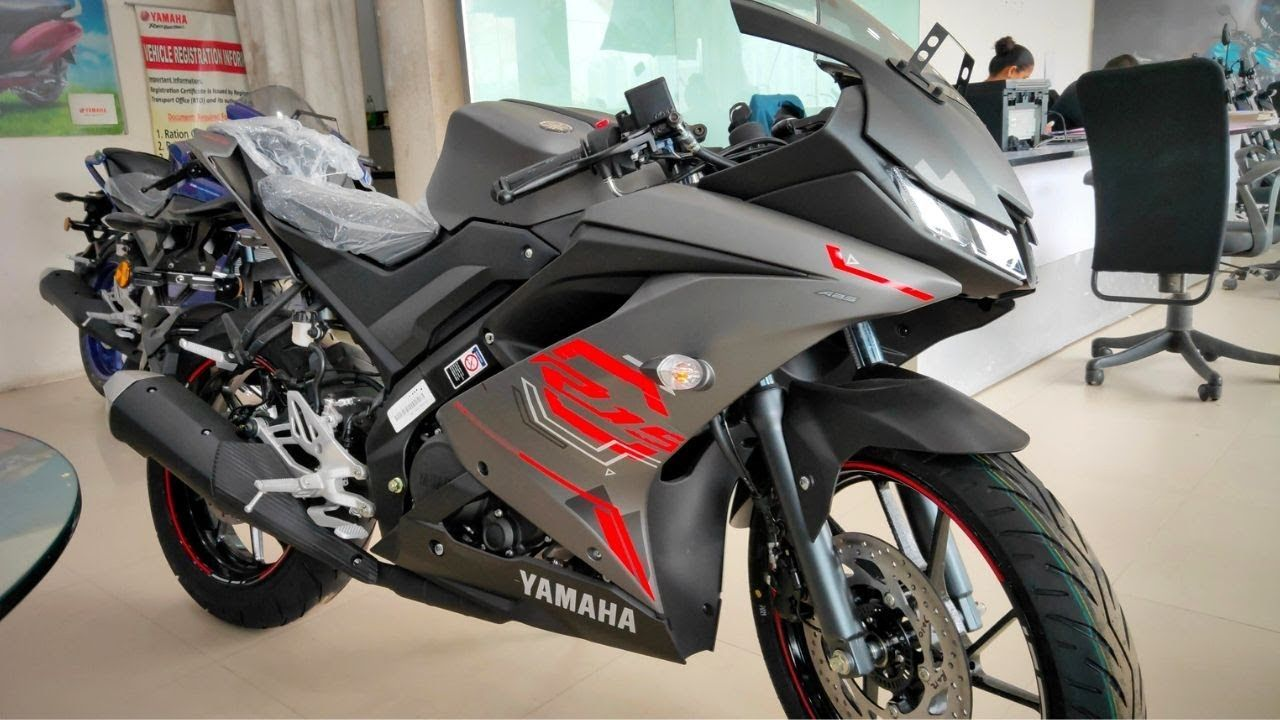 Yamaha R15 V3 Bs6 Thunder Grey Full Walkaround And First