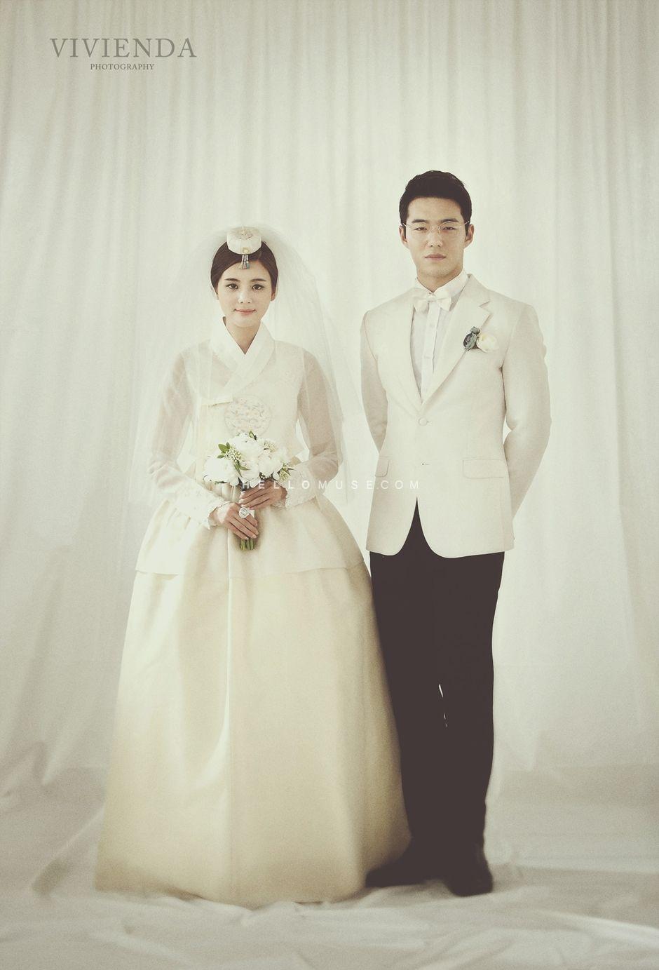 Simple wedding dress simple bridal gown korean pre wedding
