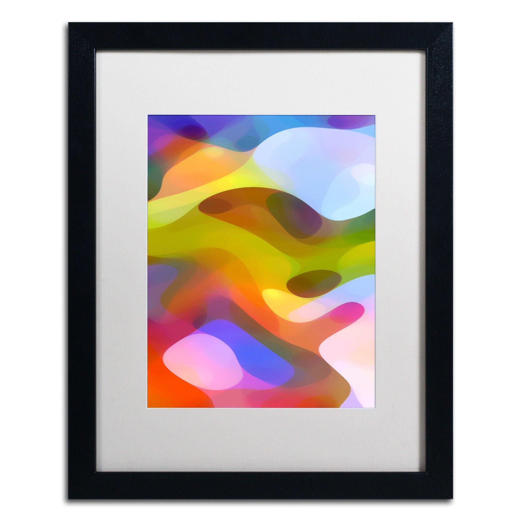 'Dappled Light 7' by Amy Vangsgard Framed Graphic Art